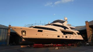 LAUNCHED M/Y LADY LILLIAN