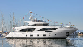 "M/Y ""CHRISTELLA II"" LAUNCHED, THE FIRST DELFINO 95'"